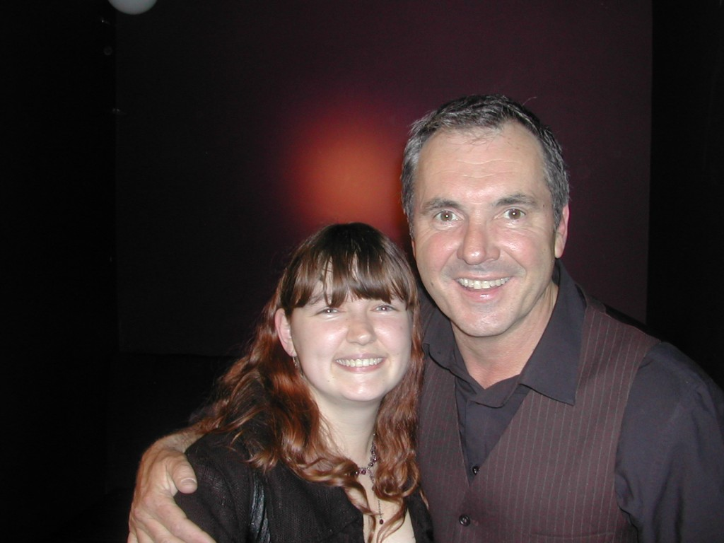 Me with Alan Fletcher